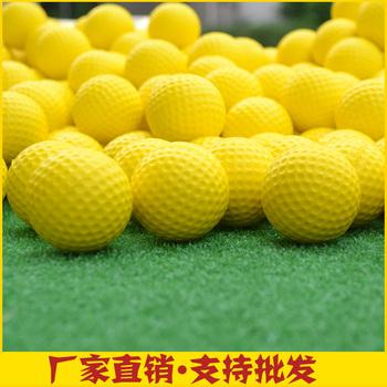 Indoor soft ball PU ball golf ball color