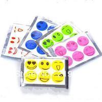 FS wholesale 100 Pack smile anti Mosquito Repellent Sticker,Bracelet/Patch 6 Pcs/bags 100 Pack=600 Pcs