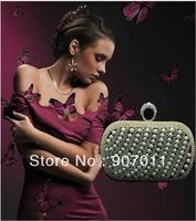 Europe 2013 hot style handbags elegant pearl diamond evening bag clutch bag banquet bag hand bag dress