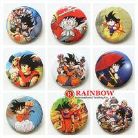 Free Shipping!Wholesale !New Arrival! 30mm 48pcs/lot Dragon ball tin badge ,fashion pin badge.badge button gift