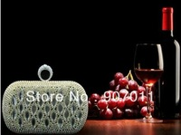 2013 European and American fashion style luxury marquise diamond evening bag clutch hand bag hand bag banquet bag