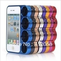 200pcs The Rings New Creative Designer knuckle case for iphone 4 4s DHL FEDEX free shipping
