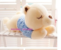 Free shipping 70cm plush toy doll cute teddy bear hug sleep Papa Girls Day gift
