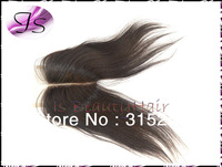 IS products center parting Virgin brazilian closure swiss lace top closures straight 3.5x4 bleached knots free shipping
