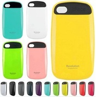 High quality ! New Korean Style iFace 2 Silicone hard back Cover case For iphone 4 4s , mix colors iFace Case For iphone 4g 1pcs