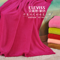 Textile summer coral fleece blanket 1.5 wool coral fleece blanket 38