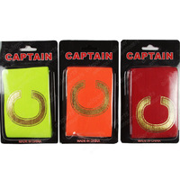 Fashion gold plated c professional soccer armband spirally-wound fans souvenir