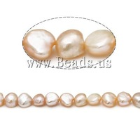 Free shipping!!!Baroque Cultured Freshwater Pearl Beads,promotion, A, 10-11mm, Hole:Approx 0.8mm, Length:15 Inch