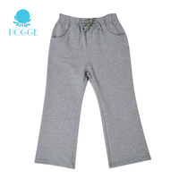 Pogge female child sports long trousers general pants casual all-match 100% cotton child trousers