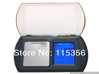 free shipping APTP448 500g-0.1g LCD backlight display Cigarette Jewelry Gold digital pocket touch screen Scale