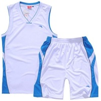Anta basketball clothes set male basketball clothing sportswear training service jersey competition clothing set vest