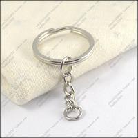 Diy accessories 28mm key ring keychain key ring extend chain 50pcs/lot