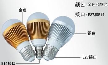 Led bulb lamp 3w lampdimming corn light fluorescent lamp led strip with lights digital tube light bulb