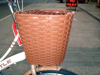 Electric bicycle rattan basket with lid vintage basket school bag basket pet basket basket