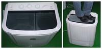High Quality Twin Tub Washing Machine (Washing + Dehydration) Semiautomatic Pulsator Washing Machine Semiautomatic