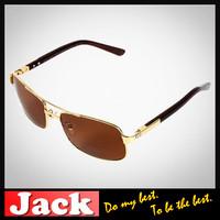 Italy High quality Brand Original Fashion Sunglasses with logo Retro  Motorcycle Metal Classic Polarized Sunglasses 3