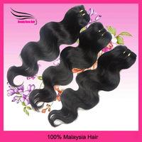 "Malaysia VirginHair, Body Wave, Natural Color 3pcs/lot, 100gram/bundle, 12""-28"", DHL Free shipping"