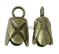 Free shipping!!!Zinc Alloy End Cap,Gothic, antique bronze color plated, nickel, lead & cadmium free, 14x25x12mm