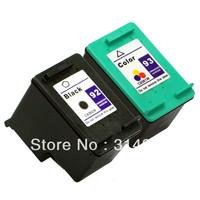 1 set (2pcs) Ink Cartridge for hp 92 93 hp92 hp93 Photosmart 7850,C3140, C3150, C3180,C4180,PSC1507,1510,1510v,1510xi