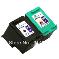 1 set (2pcs) Ink Cartridge for hp 92 93 hp92 hp93 Photosmart 7850,C3140, C3150, C3180,C4180,PSC1507,1510,1510v,1510xi