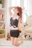 H012 Sexy Lingerie, professional secretary uniforms series, miniskirt, professional women sexy temptation to suit