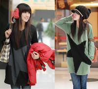 Maternity clothing sweatshirt maternity autumn and winter top slim fashion maternity clothing thick