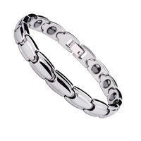 Saya tungsten bars and rods bracelet inlaying white carbon fiber bracelet male accessories day gift