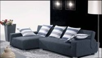 furniture fabric design 2013 new Living Room L shaped Fabric Corner  sofa, sectional  washable Fabric sofa set F9061