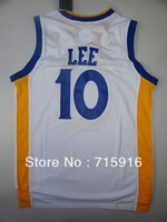 # 10 David Lee white basketball jersey and free shipping