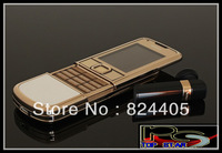 Top quality 3G 8800 Gold Arte 8800 Mobile Phone With Full Accessories Unlocked in Original Box