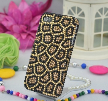For iphone  4 iphone4 rhinestone phone case  for apple   4 cell phone case apple 4