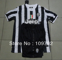 New 2013 -2014 JUVENTUS Home #10 TEVEZ ,#21 PIRLO white black baby kids youth soccer jerseys soccer uniforms kits Free shipping