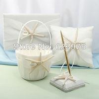 Beach Themed Starfish Design Wedding Accessory Collection