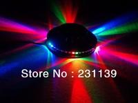 36Pcs/Carton Free Shipping Wholesale Event Lighting Party Laser Light RGB UFO Style