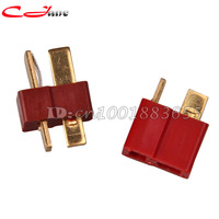 Free shipping Wholesale Dean RC Connector T plug For ESC Battery 20sets (20 mail + 20 femail )