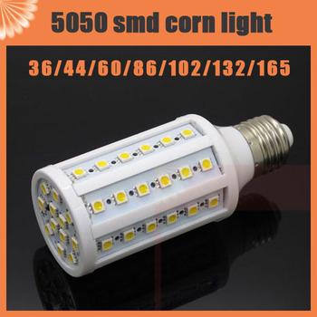 5pcs 6W 9W 12W 15W 20W 25W 30W E27/E14 LED Cool White warm white 5050 SMD Energy Saving Corn Light Lamp Bulb 110V/220V