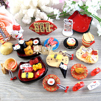 New~sweets deco fake food japanese sushi artificial cream resin food resin dollhouse free shipping