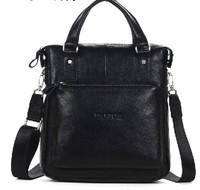 New 2014 First layer of cowhide handbag for men shoulder bag commercial genuine leather man messenger bag the man bags totes