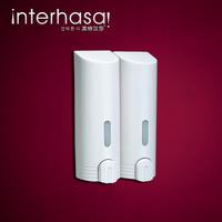 Inter lufthansa double slider plastic soap dispenser soap dispenser soap dispenser manual soap dispenser