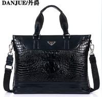 First layer of cowhide men business handbag genuine leather man shoulder bag briefcase bag male bag Brand men's messenger bags
