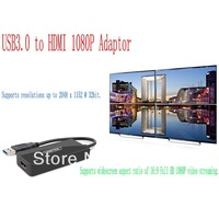 Unitek USB 3.0 to HDMI 1080P Adaptor HDMI outlay video card supprt win8 Free shipping
