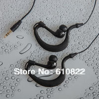 WE003 High Quality 3.5mm waterproof earphone with swimming Free China post