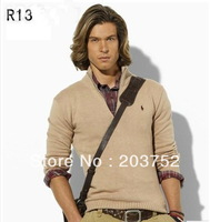 HOT!  2013  New Winter Men's Stand-up collar  Cashmere Sweater Jumpers Size:,M,L,XL,XXL