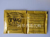Twg tea royal darjeeling teabags 12.5g ,all is 5 bags.each bag is 2.5g. The loos tea is 50g
