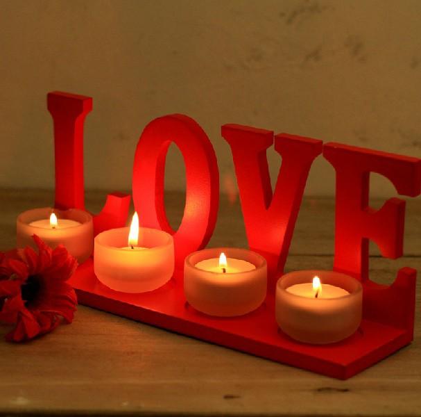 Свечи на день влюбленных своими руками