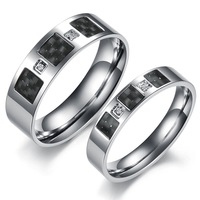 Hot New wholesale stainless steel lover couple belt Rings for men women,fashion Jewelry free shipping