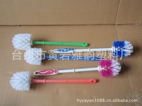 Long rod toilet brush fashion bathroom single brush health and brush toilet brush plastic
