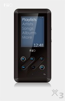 Fly fiio x3 player audition machine