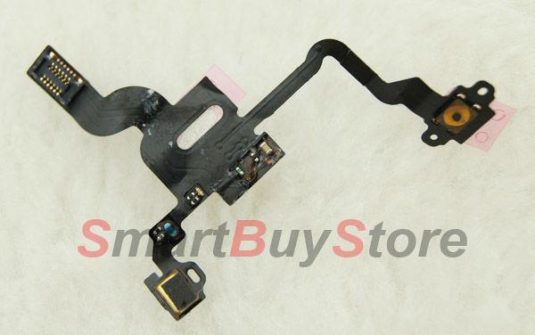 100pcs/lot Proximity Light Sensor Power Flex Cable for iPhone 4 4G free shipping(China (Mainland))