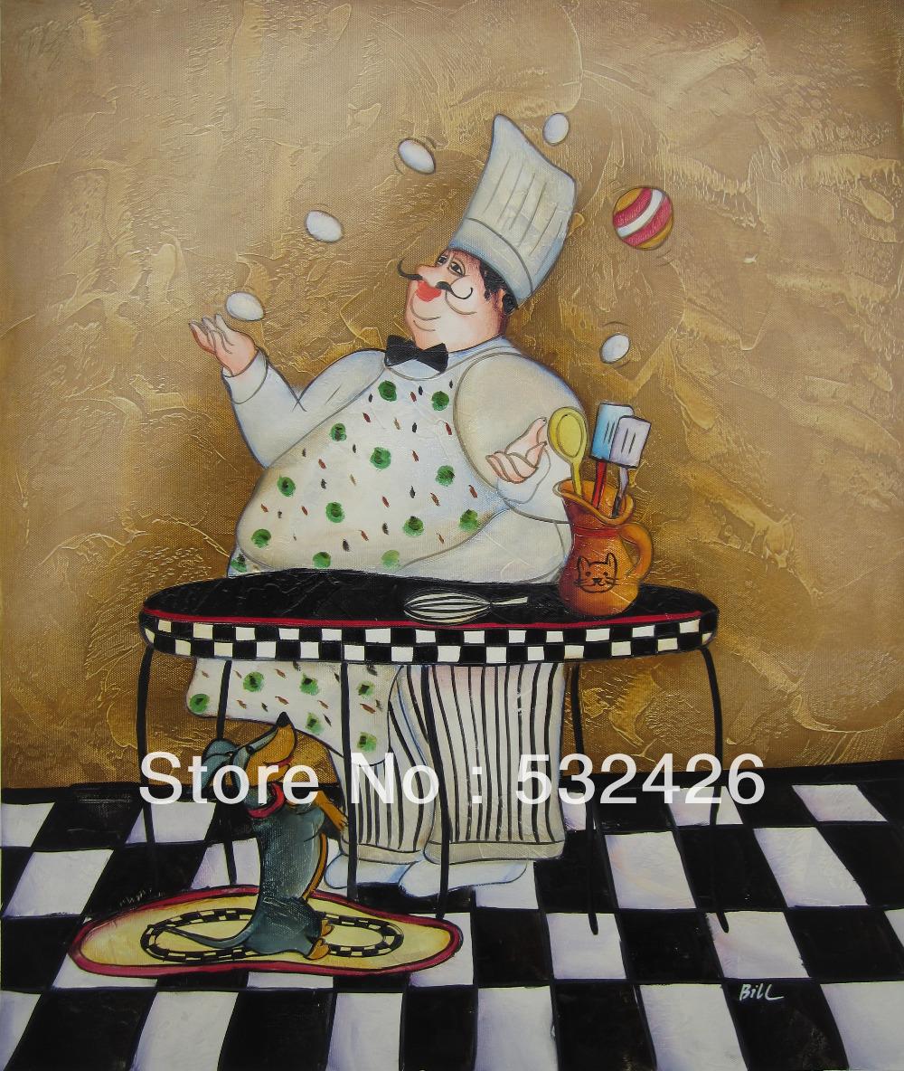 Online kopen wholesale koken schilderijen uit china koken schilderijen groothandel - Deco klassiek koken ...